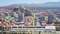Foreign media outlets analyze Kim Jong-un's trip to Paekdusan Mountain