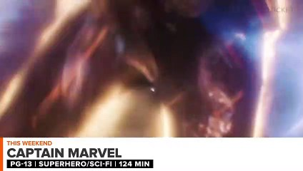 In Theaters Now- Captain Marvel - Weekend Ticket