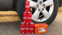 Crushing Crunchy & Soft Things by Car! EXPERIMENT CAR vs COCA COLA vs TIDE PODS
