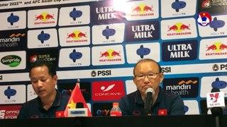 Thắng Indonesia, HLV Park Hang Seo khẳng định: ĐT Việt Nam có thể thắng Thái Lan, UAE | VFF Channel