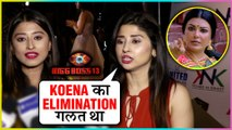 Saba Khan & Somi Khan SHOCKING Reaction On Koena Mitra's EVICTION | Bigg Boss 13