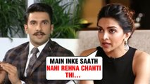 Deepika Padukone REVEALS Details About Her Live In Relationship With Ranveer Singh