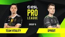 CS-GO - Team Vitality vs. Sprout [Inferno] Map 3 - Group B - ESL EU Pro League Season 10