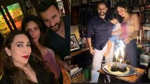 Kareena Kapoor Khan & Saif celebrate wedding anniversary with Taimur & Karisma Kapoor | FilmiBeat