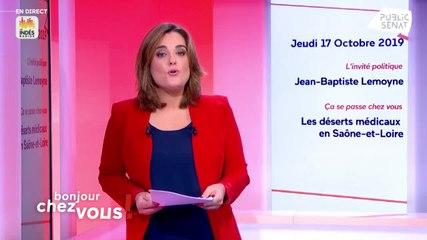 Jean-Baptiste Lemoyne - Bonjour chez vous ! Jeudi 17 octobre