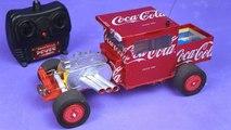 Faça um Incrível Hot Rod de Controle Remoto com Latinhas Coca cola e Motores DC