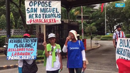 Bulakan residents say even distant communities will be affected by airport project