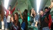 Housefull 4: Kriti Sanon, Pooja Hegde & other stars make fun at Special Train | FilmiBeat