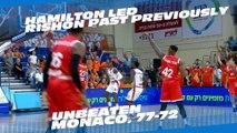 7DAYS EuroCup Regular Season Round 3 MVP: Alex Hamilton, Maccabi Rishon Lezion
