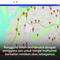 Aplikasi 'kecemasan' tengah jalan