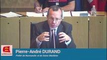 Lubrizol à la plénière de la Région Normandie 14-10-2019 - 10 -réponse de Pierre-André Durand, Préfet de Normandie et de Seine-Maritime