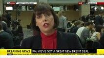 Brexit: Le premier ministre britannique, Boris Johnson, et le président de la Commission européenne, Jean-Claude Juncker, annoncent qu'un accord a été trouvé
