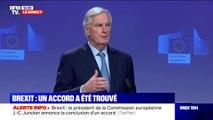 """Michel Barnier sur le brexit: """"Grâce à cet accord les engagements financiers déjà pris à 28 seront bien respectés et honorés à 28"""""""