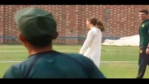 Prince William and Kate Middleton Playing Cricket in NCA Lahore
