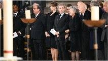 Carla Bruni très curieuse : comment elle a papoté avec François Hollande pendant les obsèques de Jac