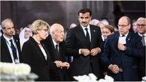 Valéry Giscard d'Estaing grognon aux obsèques de Jacques Chirac
