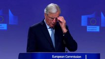Michel Barnier says 'most important thing is peace' in Northern Ireland as he sets out new Brexit deal