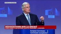 REPLAY - BREXIT : Accord conclu entre le Royaume-Uni et l'Union européenne