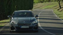 The first-ever BMW 220d Gran Coupe in Storm Bay Driving Video