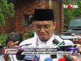 Antusias Jokowi Baca Bocoran Nama Menteri