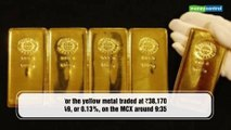 Gold price today: Yellow metal futures in the red on weak spot demand
