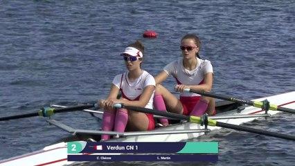 Championnats de France Sprint Senior Gerardmer 2019 - Deux de couple senior femme - Finale A