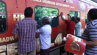 Akshay Kumar, Bobby Deol, Kriti Sanon & Others At Railways New Initiative To Promote Of 'Housefull 4'