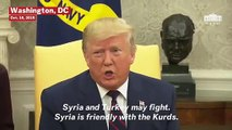 Trump Defends Syria Withdrawal: 'They've Got...A Lot Of Sand That They Can Play With'