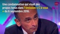 Éric Zemmour saisit la CEDH