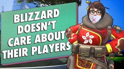 Blizzard Choose MONEY Over Free Speech