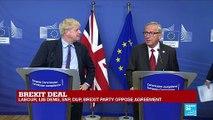 Brexit Deal: Boris Johnson, Jean-Claude Juncker hold press conference
