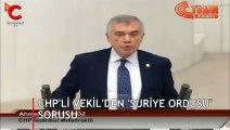 CHP'den Meclis'te dikkat çeken 'cihatçı' sorusu