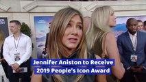 Jennifer Aniston Will Get The 2019 Icon Award