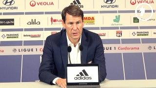 OL : Rudi Garcia apprécie le soutien de Bruno Genesio