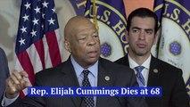 Rep Elijah Cummings Has Passed Away