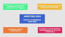 Ambition 2024 - le projet académique 2020-2024