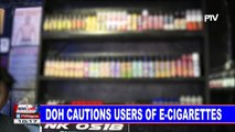 DOH cautions users of e-cigarettes