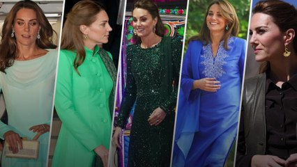 Kate's fashion highlights from royal visit to Pakistan