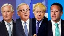 Brexit Reaction: Johnson, Juncker, Barnier, Varadkar