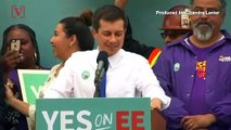 Mayor Pete Buttigieg Emerges as New Threat to former VP Joe Biden