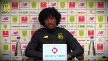 Samuel Moutoussamy avant FC Metz - FC Nantes