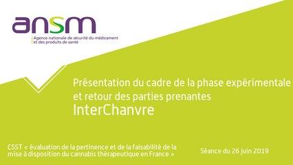 Perspectives françaises - Audition d'InterChanvre