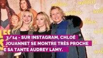 PHOTO. Audrey Lamy partage un cliché d'enfance trop chou de sa nièce Chloé Jouannet