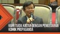 'Kami tiada kaitan dengan pengedaran komik propaganda' - DAP P. Pinang
