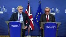 EU and U.K. Reach a Brexit Deal, But It Quickly Hits a Snag