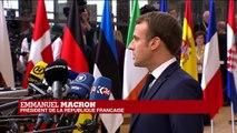 """Négociations sur le BREXIT : Emmanuel Macron a salué """"un bon compromis"""""""