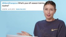 Maria Sharapova Goes Undercover on YouTube, Twitter and Instagram