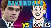 Riverdale vs Archie Comics
