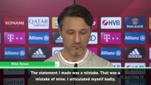 Kovac sorry for Muller comments