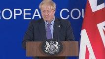 UK PM Boris Johnson praises Brexit deal